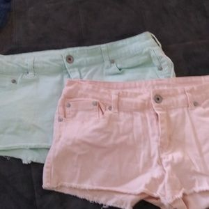 Refuge shorts 3 pair sz 10